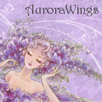 AuroraWings Blog Badge Wisteria